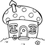 Domeček z houby