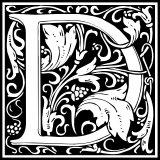 Písmeno D