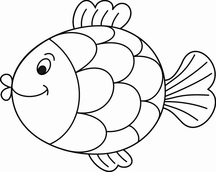 Výsledek obrázku pro ryba kreslená
